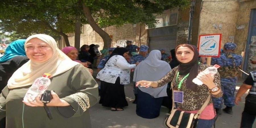 خبر :  المصريين الأحرار ... ينقل الناخبين ويوزع زجاجات المياه