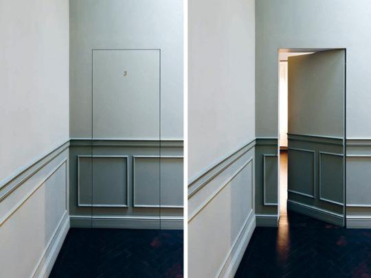 Puertas ocultas ideas para decorar dise ar y mejorar tu for Diseno de puertas interiores