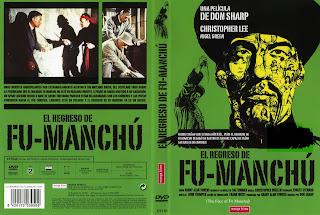 Caratula: El regreso de Fu-Manchú (1965) (Cine de Terror Clásico)