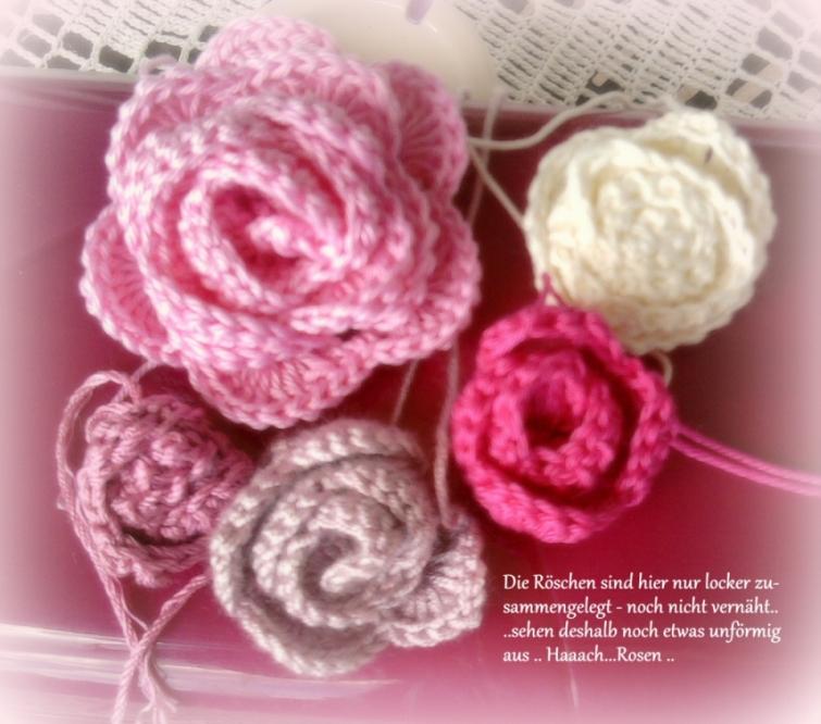 Die Häkel Eule - Häkeln und Stricken: Blumen - Blüten & Blattwerk
