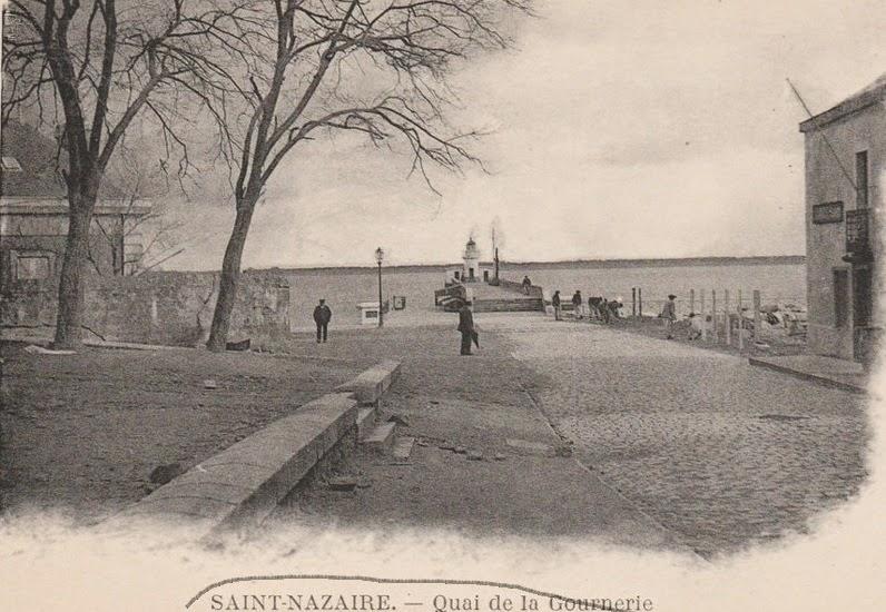 Saint nazaire la ville d 39 antan st nazaire quai de la for Piscine st nazaire