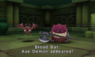 Blood Bat and Axe Demon Enemies