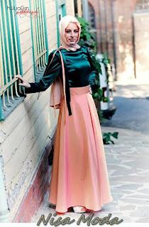nisa moda 2014 tesett%C3%BCr Elbise modelleri59 nisamoda 2014, 2013 2014 sonbahar kış nisamoda tesettür elbise modelleri