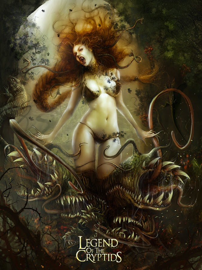 Legend of the Cryptids - (Crisis) Death Inducing Bernadette