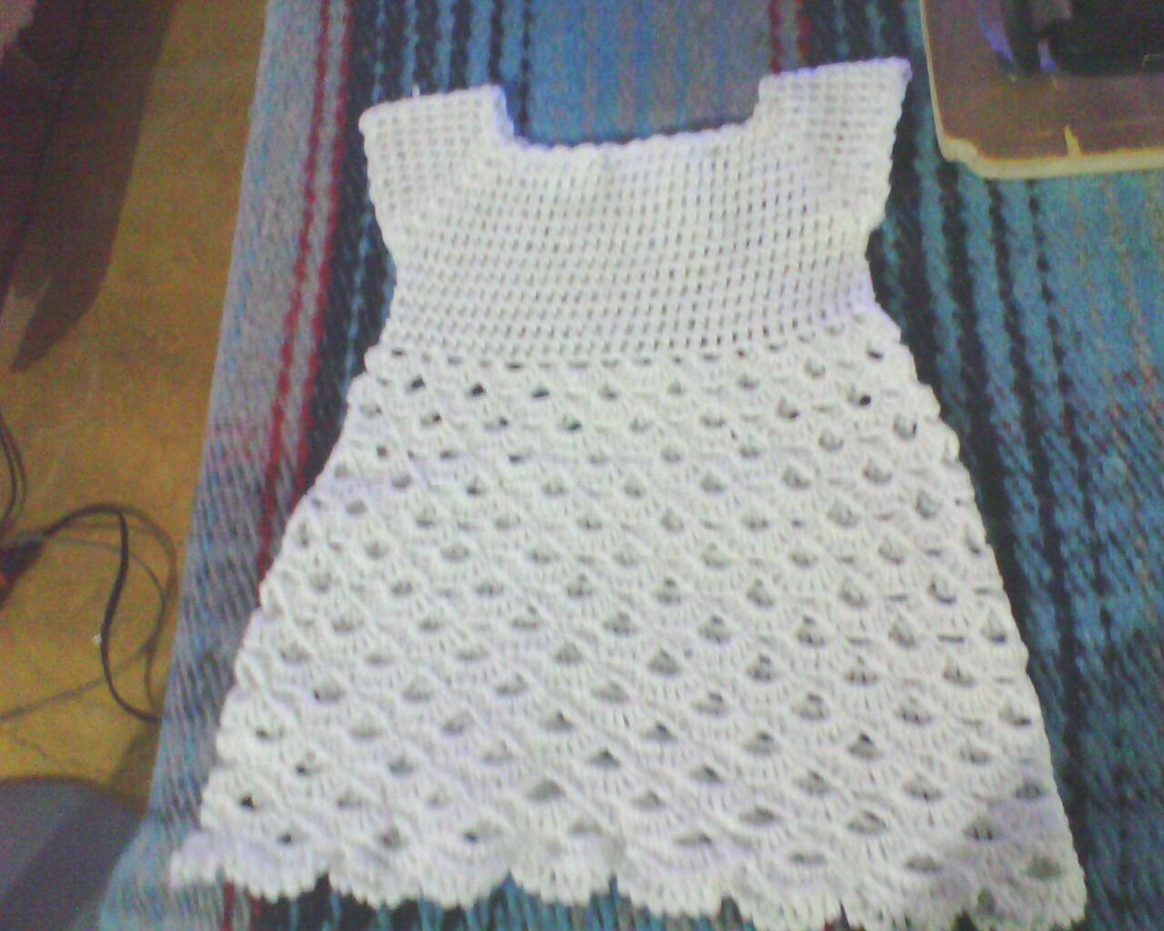 Ideas en Crochet: vestidos para bebe