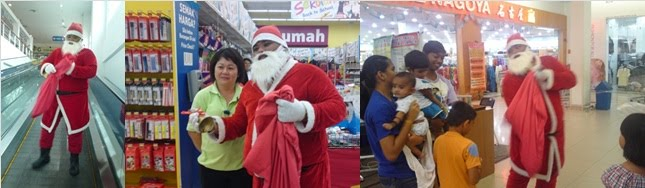 Santa Claus Tesco Perak 2010