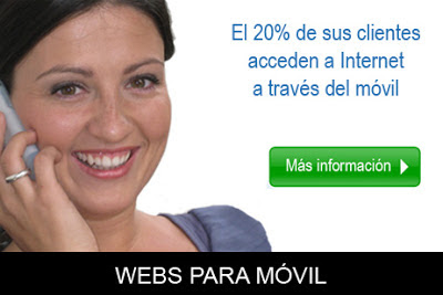 Webs para mvil