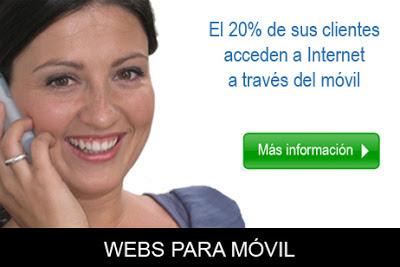 Webs para móvil