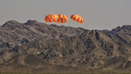 ORION SPACECRAFT TEST DESCENT A
