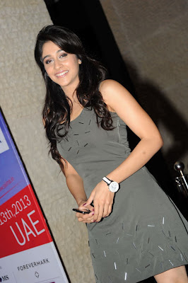 Gorgeous Regina cassandra looking hot in knee length dress