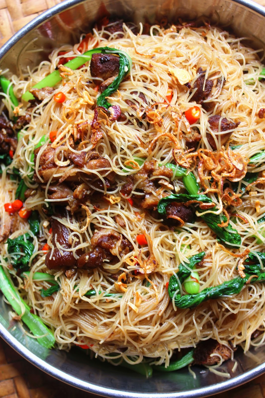 how to make rice vermicelli