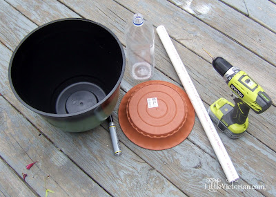 how to build your own pretty self watering planter