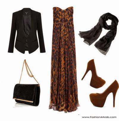 Hijab style robe à la mode