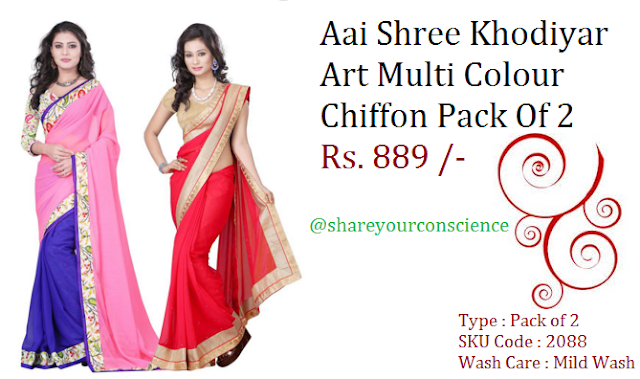 value pack of sarees