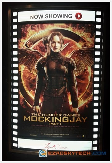 Film Review - The Hunger Games : Mockingjay - Part 1