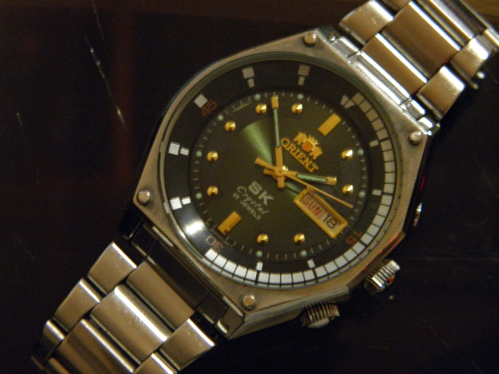 sold orient sk crystal
