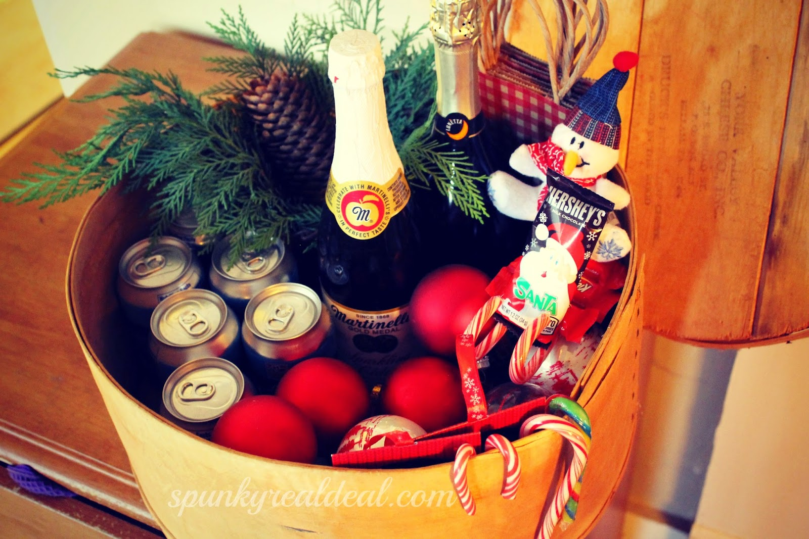 Rustic DIY Beverage Caddy