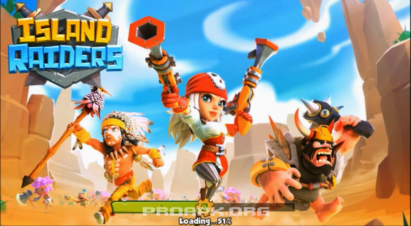 Island Raiders: War of Legends Gameplay