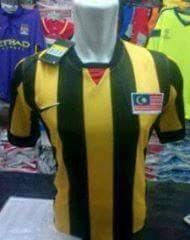gambar detail photo jersey sea games 2015 singapura Jersey timns Malaysia home terbaru musim 2015/2016