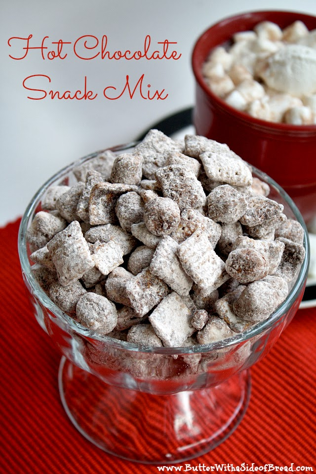 Hot Chocolate Snack Mix