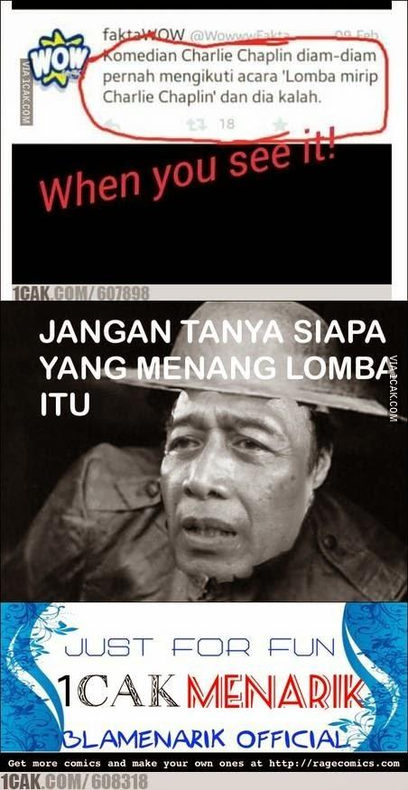 Kumpulan Meme Lucu Wiranto Menyamar