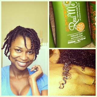 NuNaat Real Me Natural Curl Activator