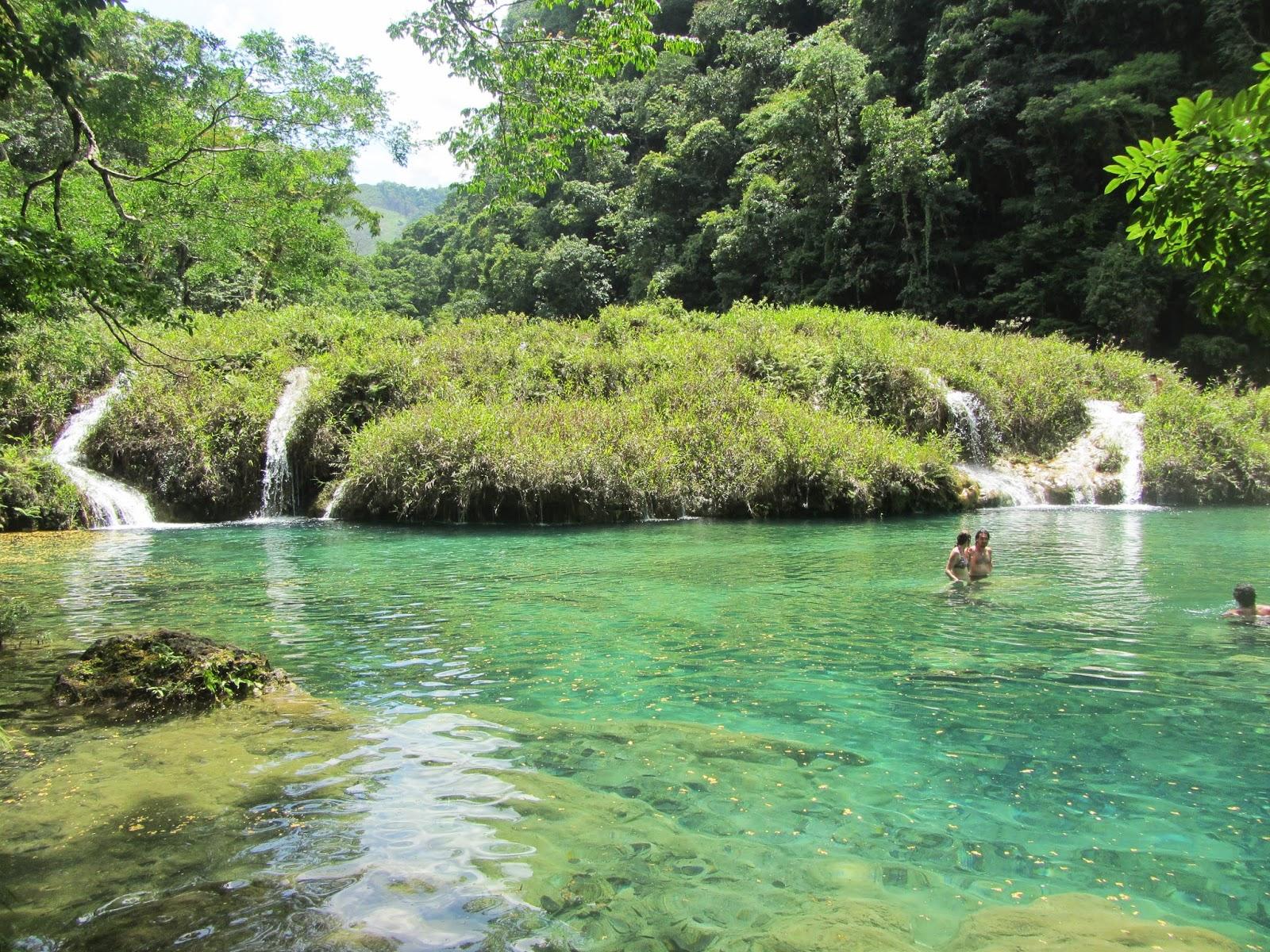 Semuc Champey lagoons