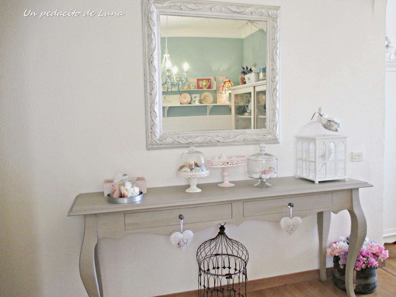 Un pedacito de luna el camino de mesa frustrado - Como colocar un espejo encima de un aparador ...