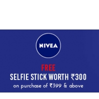 Nykaa : Nivea Beauty & Personal Care Products Upto 50% Off + Free Selfie Stick On Purchase Rs.399 or above : BuyToEarn