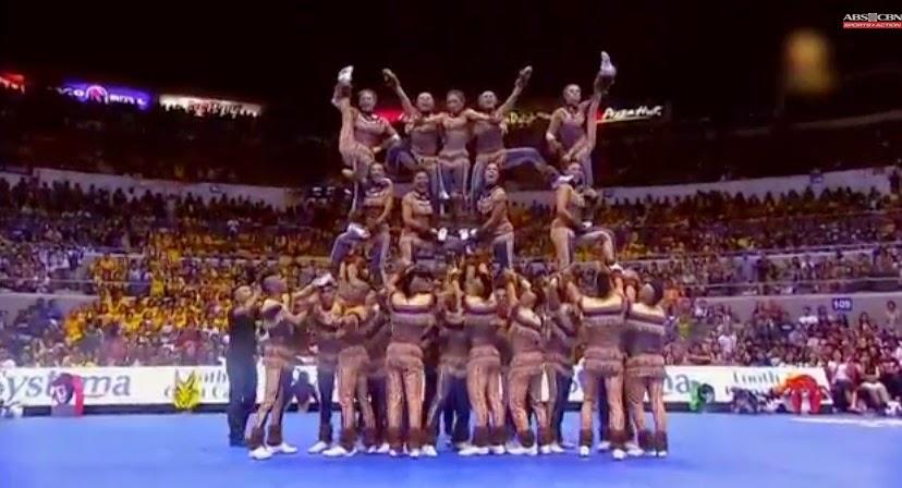 NU Pep Squad wins 2014 CDC