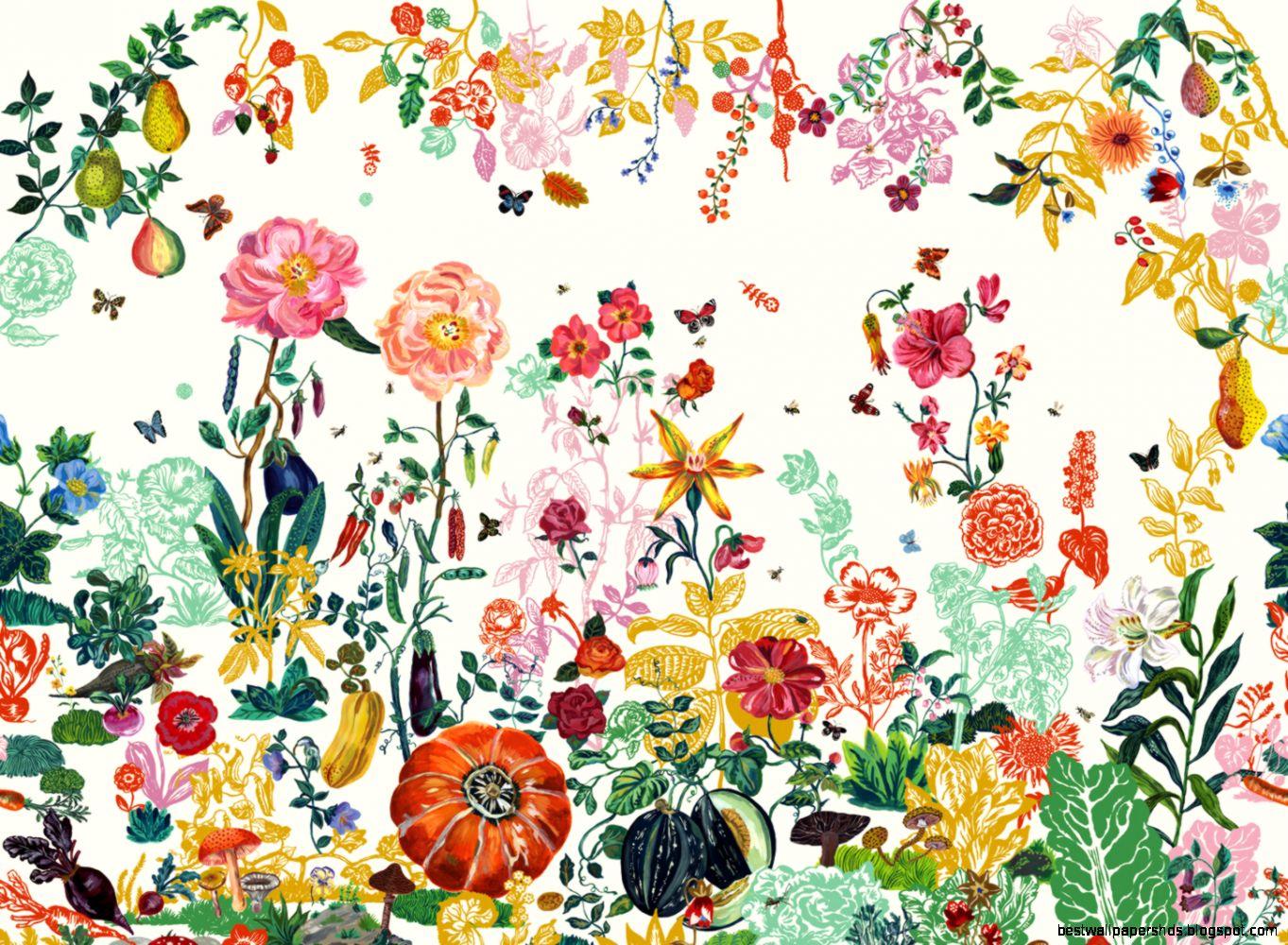 Fl Pattern Wallpaper by Justin Bruno on FL  Flowers HDQ  154 MB