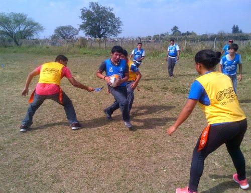 El programa Jugá Rugby ya se desarrolla en Tucumán