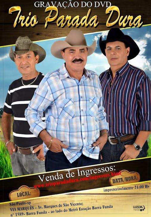 Poster da gravação do DVD