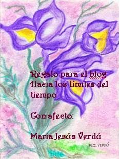 Regalo de M.Jesús Verdú