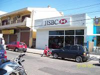 Frente da agência HSBC de Alvorada.