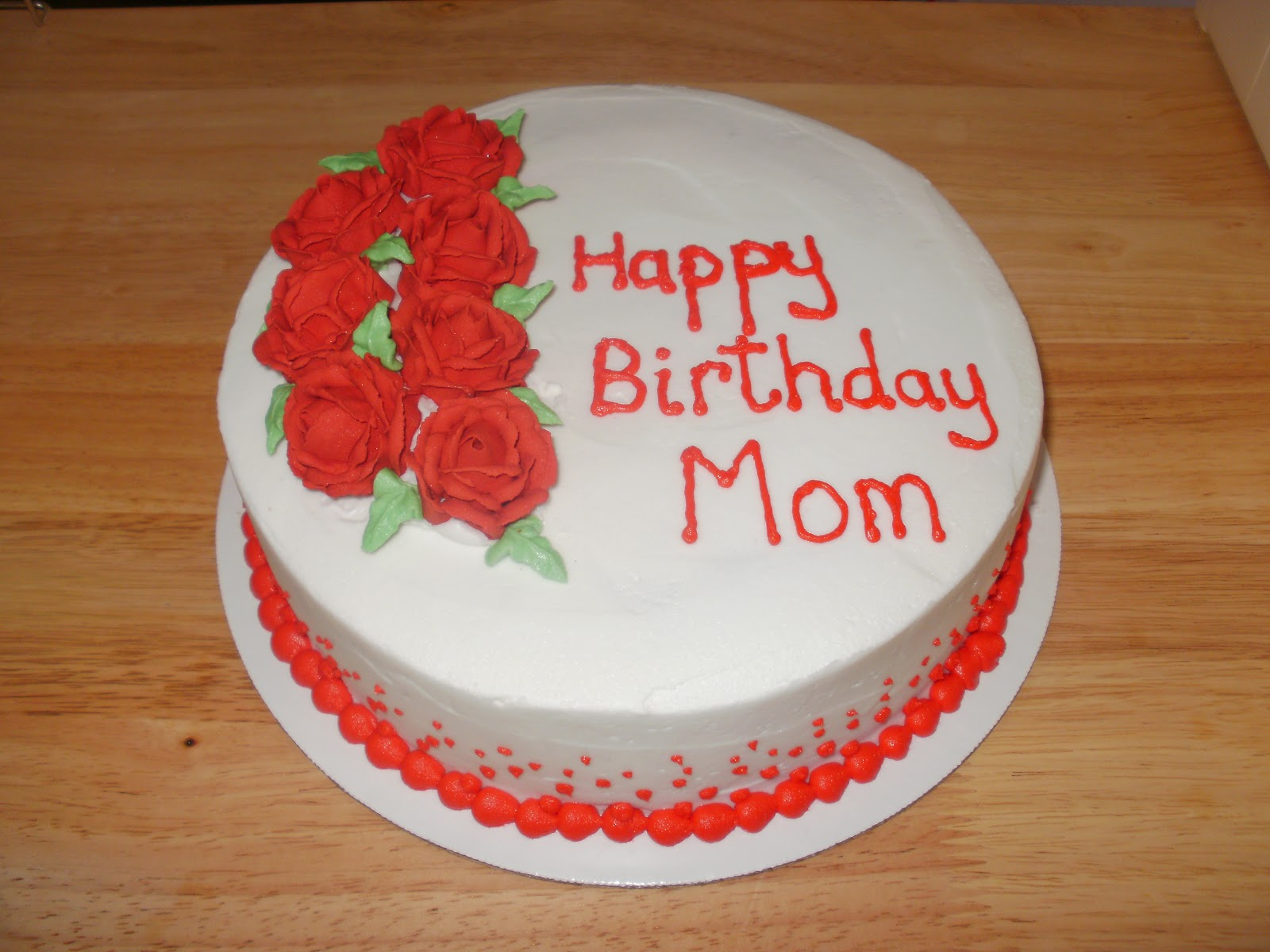 Cake Pictures For Mom : The Many Adventures of a Sunflour Cake Mom: Happy Birthday ...