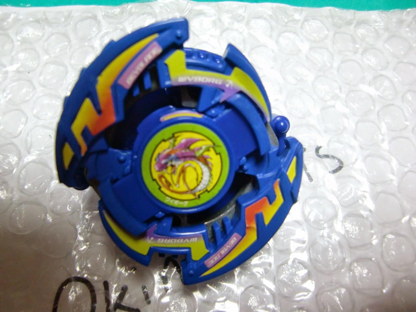 Toku Taku Toys' Beyblade Collection: A-36 Wyborg ★ A-36 ワイボーグ