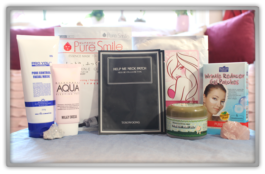 겟잇뷰티박스 by 미미박스 memebox beautybox Special #38 My Mask Box unboxing review look inside