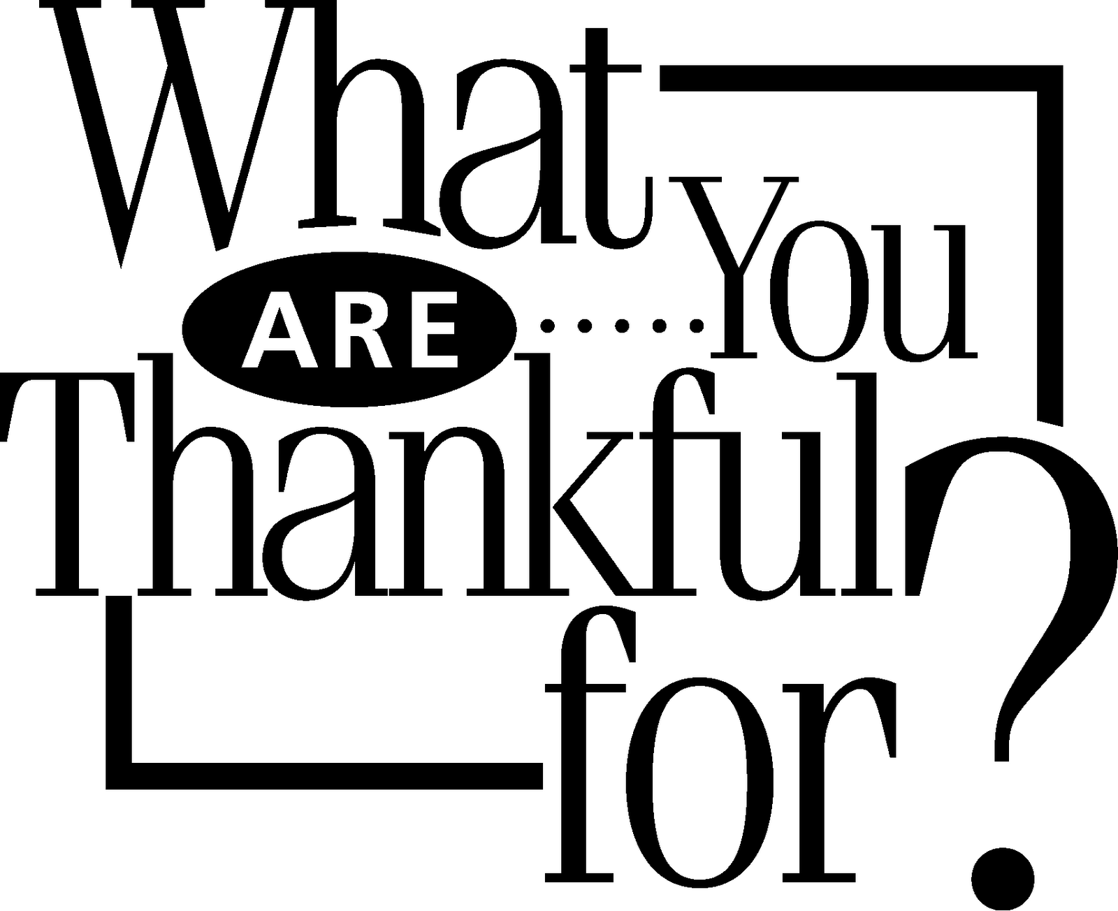 3 things most thankful for