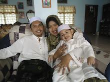 Amin with ibu n bapak