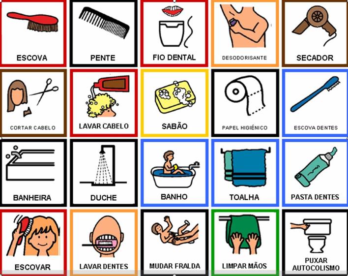 Imagenes de habitos de higiene personal para colorear - Imagui