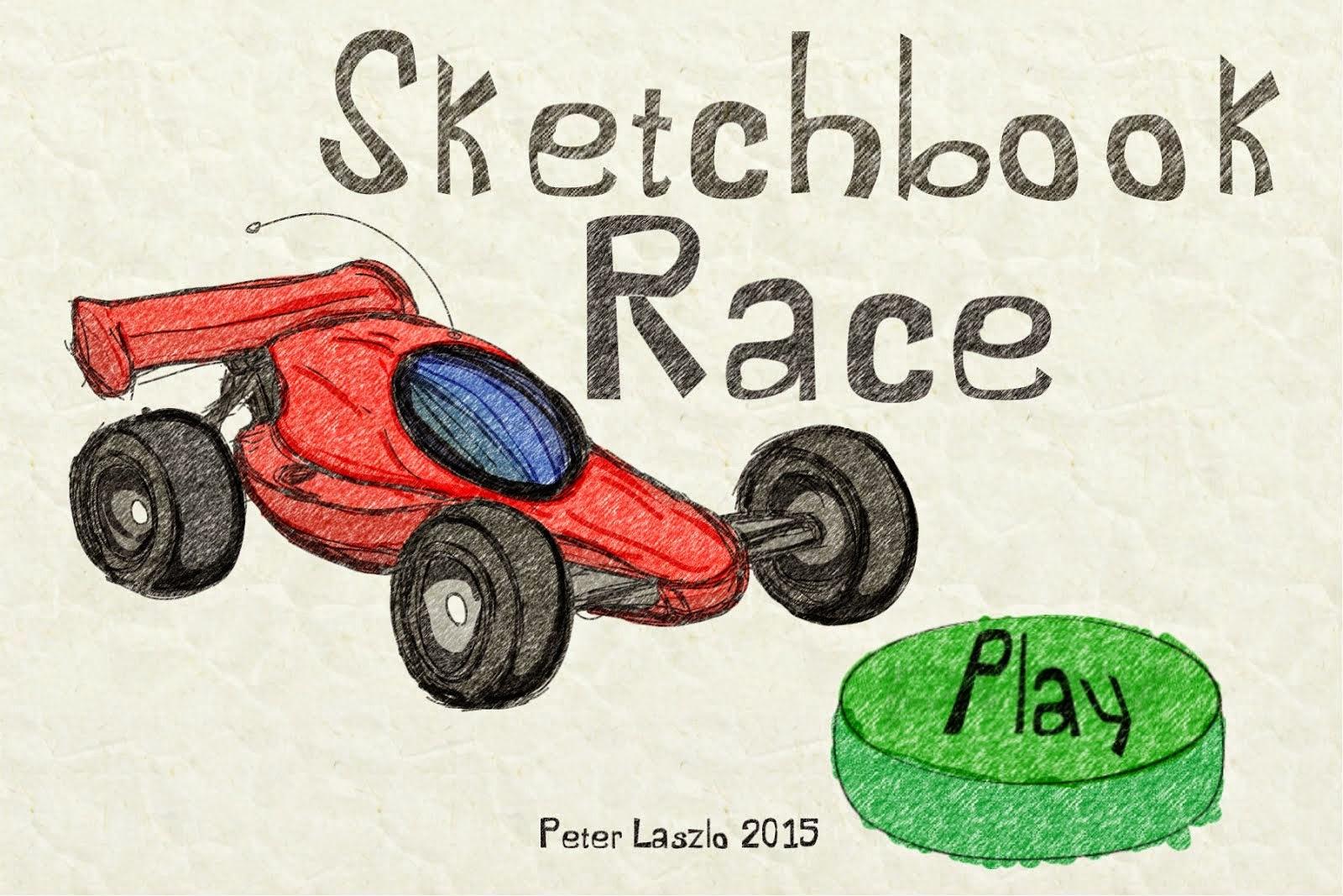 Sketchbook Race by Peter Laszlo