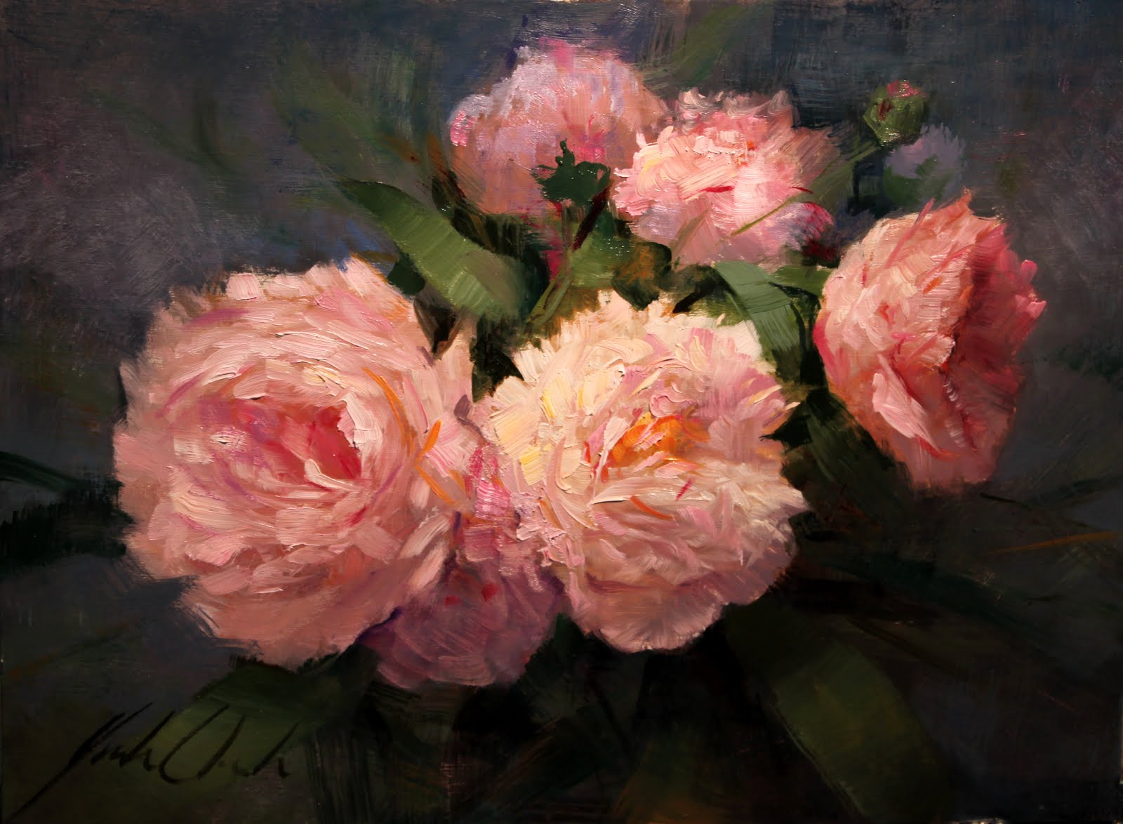 """Peonies"" by Justin Clements"