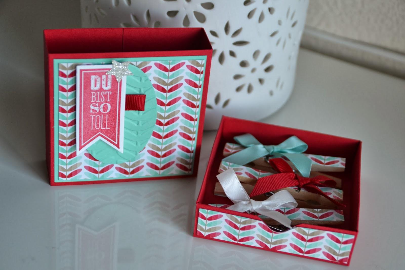 kreativ mit liebe schubladenbox die 2. Black Bedroom Furniture Sets. Home Design Ideas