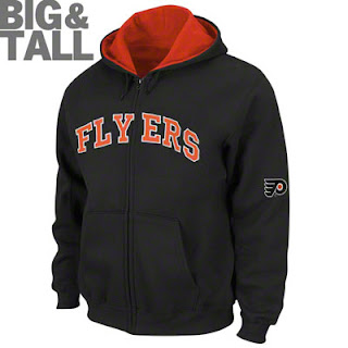 Big and Tall Philadelphia Flyers Hooded Sweatshirt