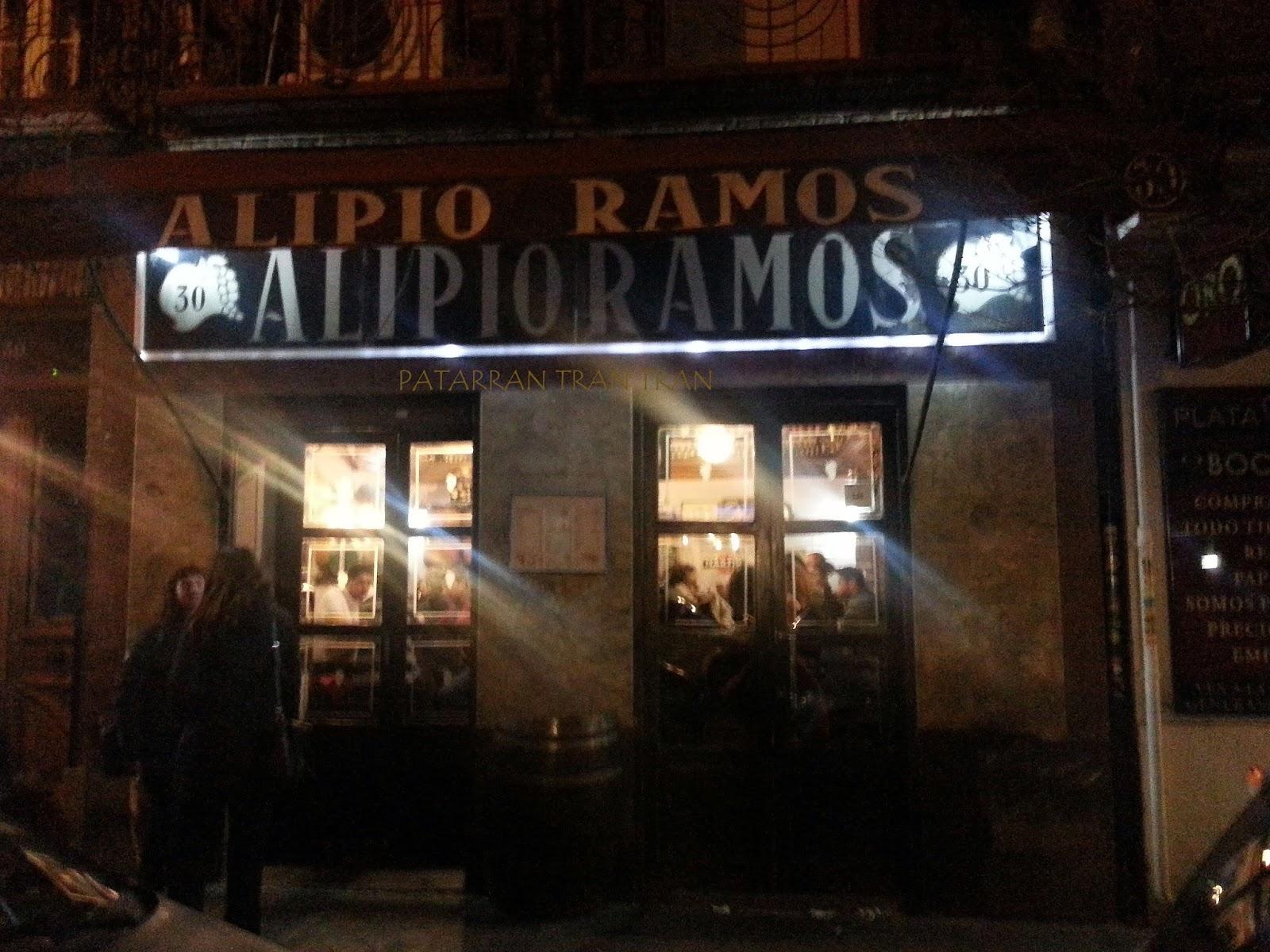 Alipio Ramos. Inspeccion Tabernaria. Calle Ponzano y aledaños