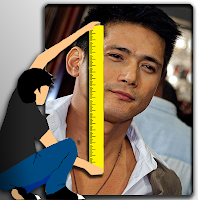 How tall is Robin Padilla