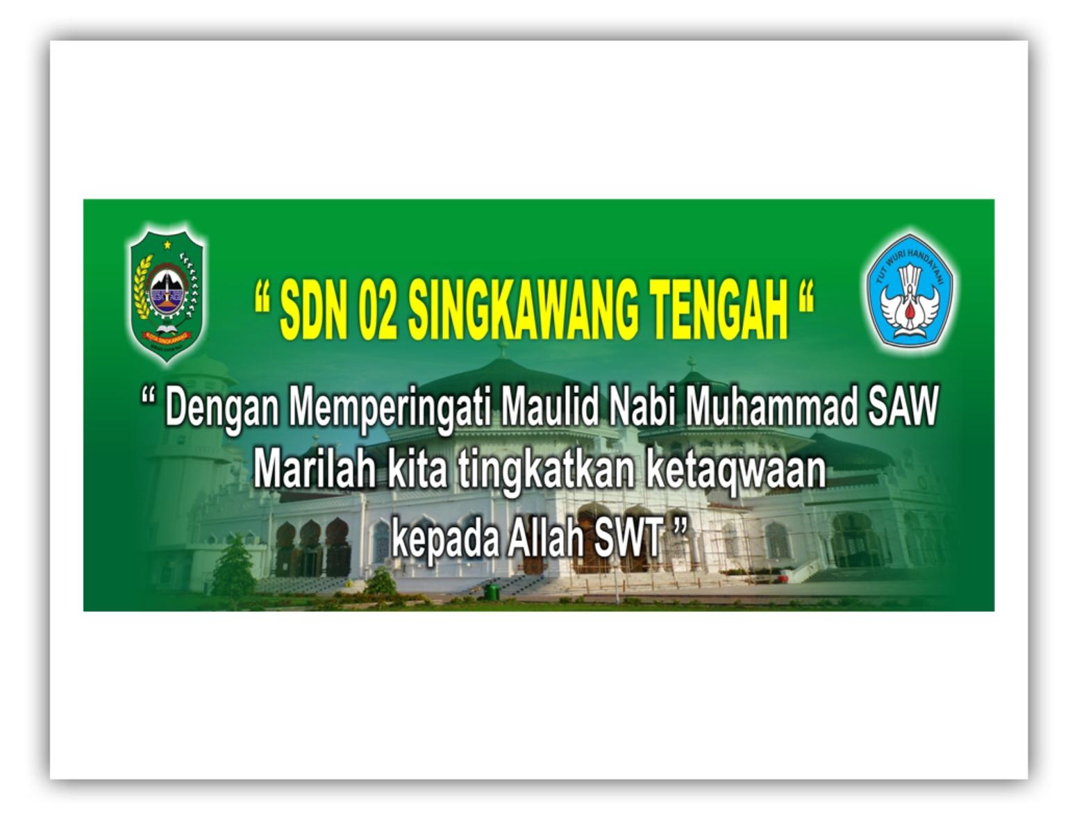 Contoh Spanduk Maulid Nabi Muhammad Saw | newhairstylesformen2014.com