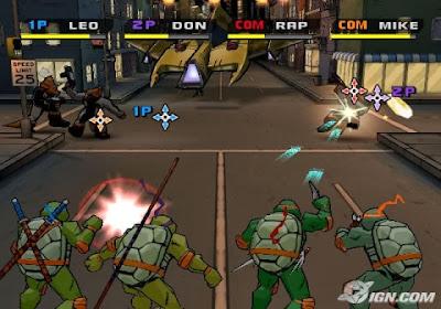 شرح تحميل وتتبيث لعبة سلاحف النينجا tmnt 2 battle nexus مضغوطة !!!!! بحجم 96 MB