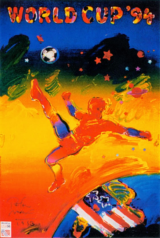 Poster oficial da Copa do Mundo realizada nos Estados Unidos no ano de 1994.